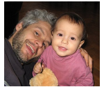 Dainis with daughter Emi